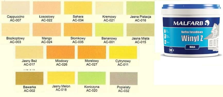 Farba Elewacyjna Fasadowa Do Elewacji 10l Kolory 5201246639 Allegro Pl