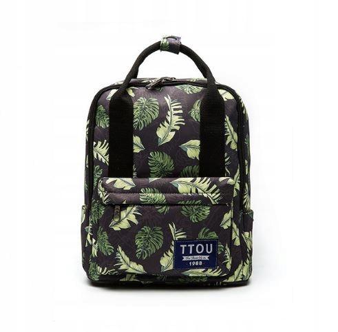 a03b29cf32c6f Funkcjonalny plecak do szkoły kostka kwadrat HIT 7678366085 ...