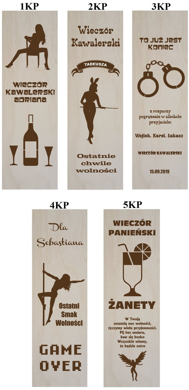 Pudełko Skrzynka Na Wino Grawer Prezent ślub Serce 7427157771