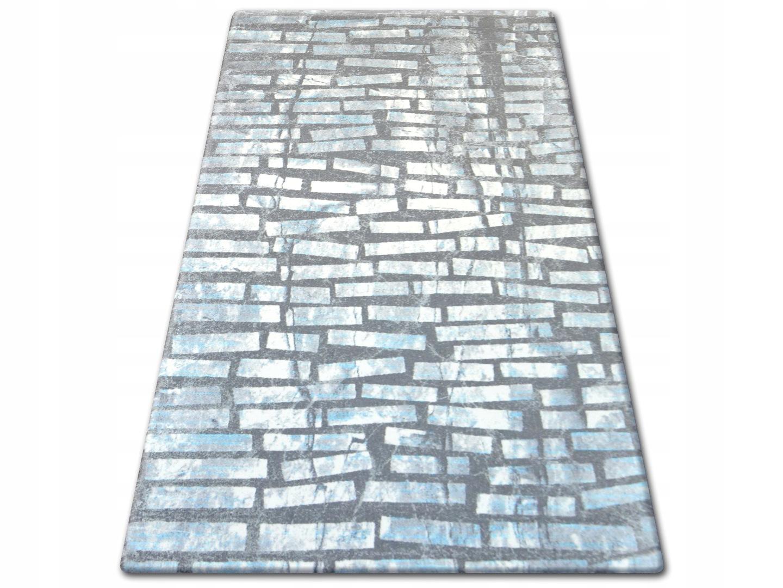 Dywany łuszczów Patara 80x150 Cegły Turkus At1336