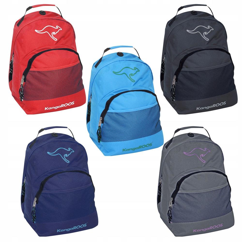 168473d2a2612 Plecak Kangaroos Podróż Szkoła Wycieczka 15L 7533878966 - Allegro.pl