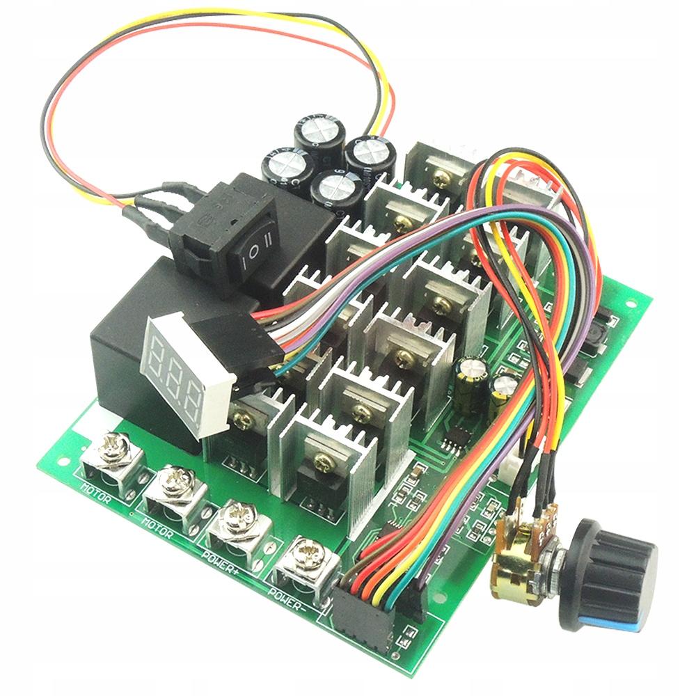 Sterownik regulator obrotów PWM L/ P 60A 10-55V
