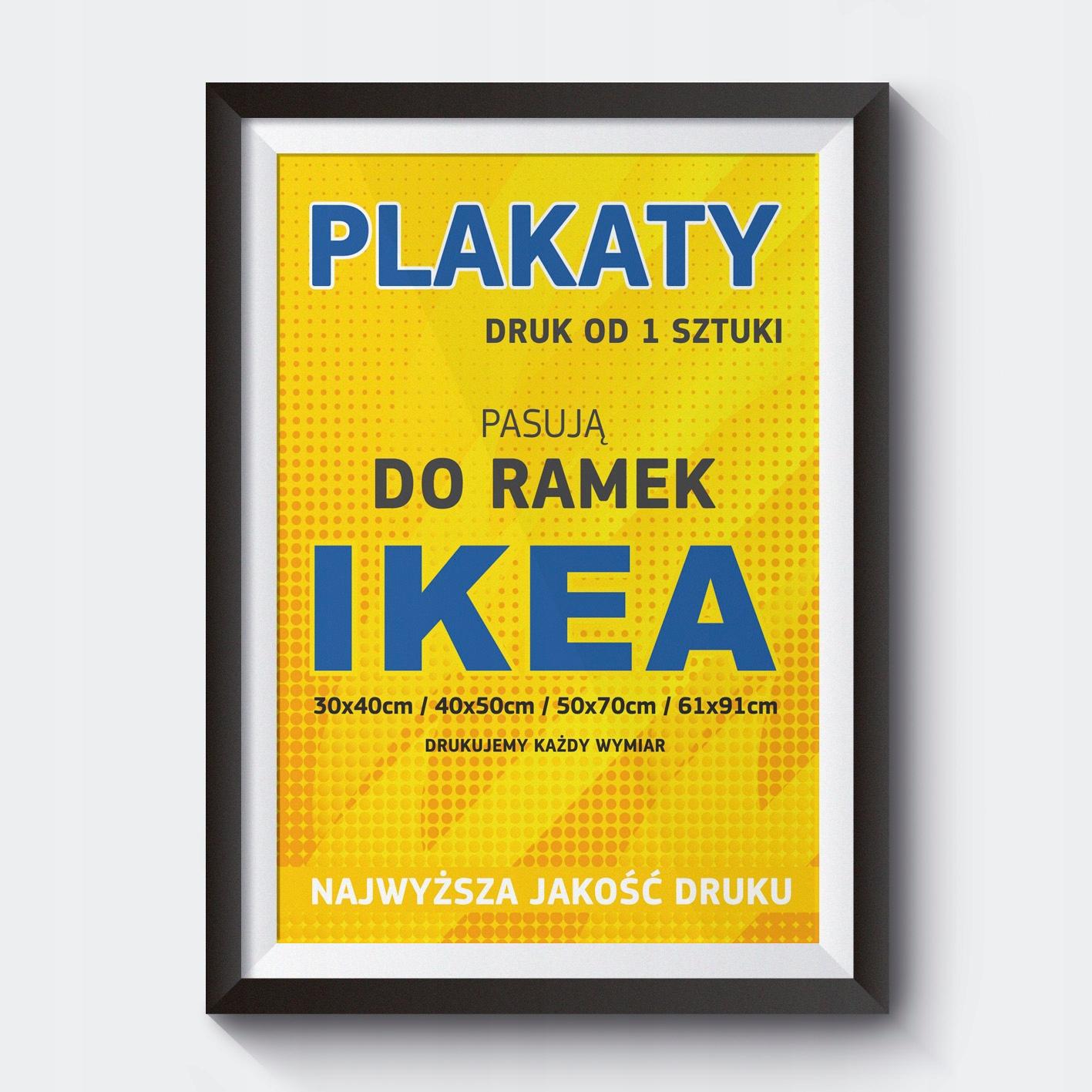 Plakaty Do Ramek Ikea Ribba Hovsta I Inne Druk
