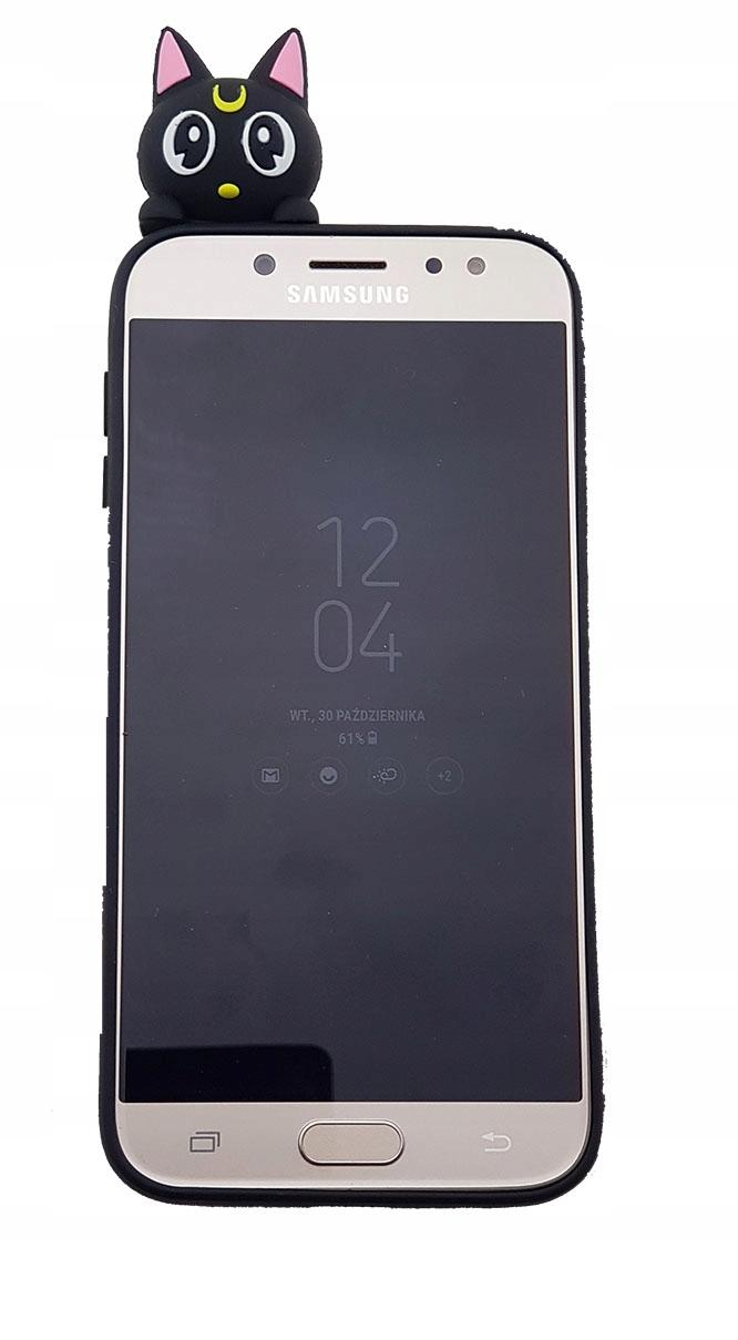 Etui KOT NOC 3D na Huawei Y7 2018 etui kot noc 3d - Etui KOT NOC 3D na Huawei Y7 2018 | Wyjątkowe etui na telefony - etui-gsm.pl