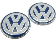 LOGO Наклейка VW 14mm Kluczyk Эмблема alumi 2szt