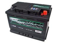 Аккумулятор Gigawatt 74ah 680A 12V П+ BODZANÓW