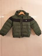 ciepła kurtka Benetton 90 18-24 zielona