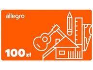 Karta Podarunkowa Allegro - 100 zł