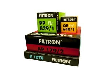 комплект фильтров filtron audi a4 b6 1.9tdi 1.9 tdi - фото