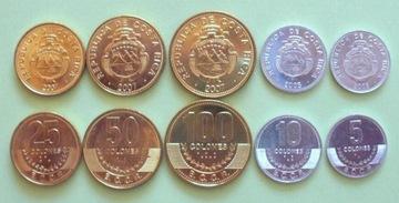 Коста-рика набор 5 монет доставка товаров из Польши и Allegro на русском