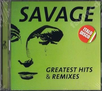 SAVAGE GREATEST HITS & REMIXES 2CD ИТАЛО-ДИСКО доставка товаров из Польши и Allegro на русском