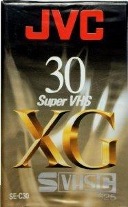 Кассета для видеокамер JVC S-VHS-C, VHS-C XG 30 мин. Вава доставка товаров из Польши и Allegro на русском