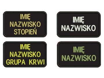 (ПОЛОСА именная ОПС ЛИПУЧКЕ KSRG ПАТЧИ ОХРАНА PSP) доставка товаров из Польши и Allegro на русском