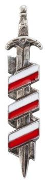 Застежка Szczerbiec, польша флаг красивый доставка товаров из Польши и Allegro на русском