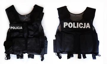 Жилет Тактический - Полиция, супер качество года. XL доставка товаров из Польши и Allegro на русском