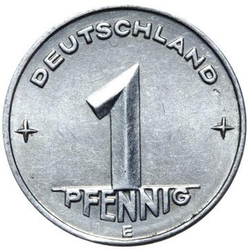Германия DDR - монета 1 Pfennig 1953 ЭЛЕКТРОННОЙ MULDENHUTTEN доставка товаров из Польши и Allegro на русском