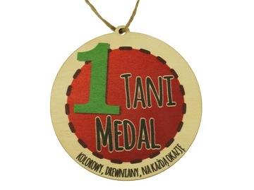 Медали-Медали деревянные красочные Твоя графика доставка товаров из Польши и Allegro на русском