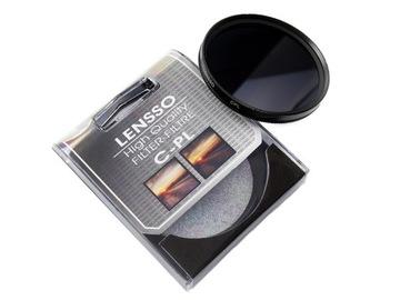 (Фильтр поляризационный Lensso CPL 52мм 52 мм) доставка товаров из Польши и Allegro на русском