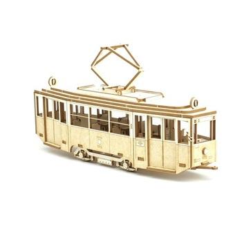 Модель из картона - Трамвай Konstal 4N в масштабе 1:72 доставка товаров из Польши и Allegro на русском