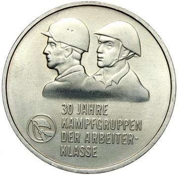 ГДР - 10 Марок 1983 А KAMPFGRUPPEN - MENNICZA UNC доставка товаров из Польши и Allegro на русском