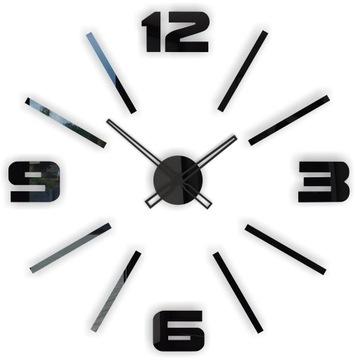 Современный большой тихий naklejany настенные часы D1C доставка товаров из Польши и Allegro на русском