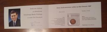 Фишка НБП - Лешек Balcerowicz оригинал 2006 год доставка товаров из Польши и Allegro на русском