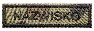 Полоса Имя WZ93 военная Name Патч-Форму доставка товаров из Польши и Allegro на русском