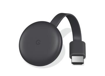 GOOGLE Chromecast 3 Charcoal HDMI WiFi SmartTV доставка товаров из Польши и Allegro на русском