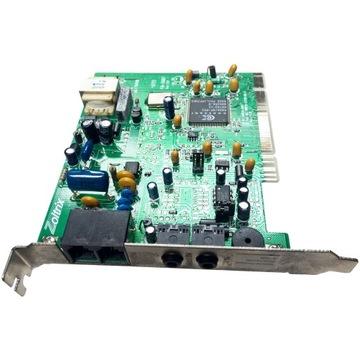 PCI modem 56K ZOLTRIX FM-5687 100% OK WjF доставка товаров из Польши и Allegro на русском