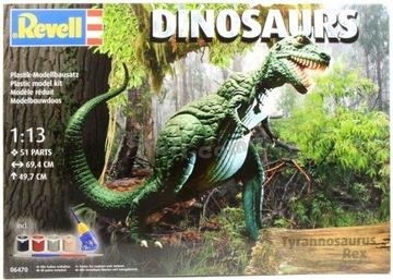Revell Tyrannosaurus Rex 06470 1:13 БОЛЬШОЙ МОДЕЛЬ доставка товаров из Польши и Allegro на русском