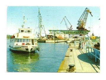 Pocztówka - Świnoujście - statek 'Maryna' / port доставка товаров из Польши и Allegro на русском