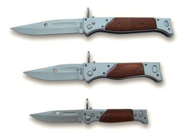 НАБОР из ТРЕХ штык-ножей ПРУЖИННЫХ Ак-47 N717 НОЖ доставка товаров из Польши и Allegro на русском