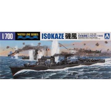 AOSHIMA 448 - Эсминец IJN Isokaze 1945 1:700 доставка товаров из Польши и Allegro на русском