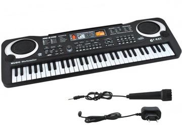 Клавиатура Органы Электронные для Изучения Микрофон 61 доставка товаров из Польши и Allegro на русском