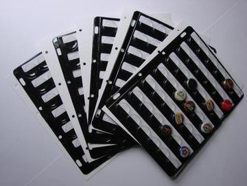 Stránky na pivné čiapky 42 ks + spacer !!