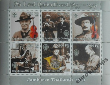 Scouting Baden-Powell Ark Guinea 2003 Clean # M212