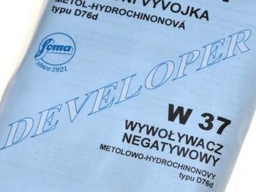 Vývojár pre film FOMA FOMADON PW 37 D76D