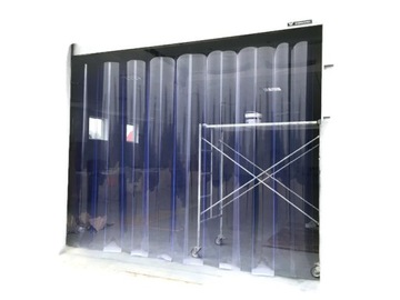 1m2 pre dimenziu Pripravené PVC Curtain Curtain