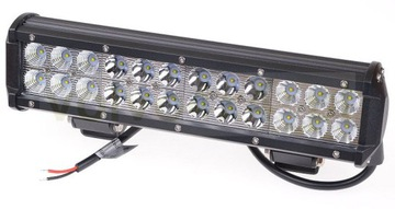STRIP QUAD 72W LED CREE COMBO-MIX 24x 3W v teréne