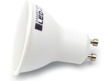 Neutrálna biela žiarovka GU10 LED 2835 SMD 9 W CCD