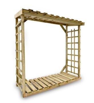 SOLIDNA impregnovaná dreváreň pre 2,5 m3