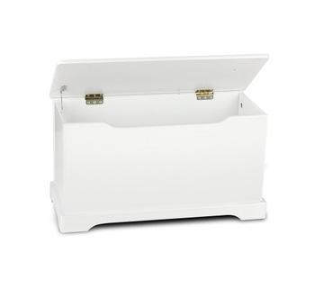 Krabica na hračky a poklady / lavička 244161 Biał