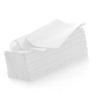 RUČNÍKY Papier RUČNÍK Biely papier RUČNÍK ZZ-VÝPREDAJ