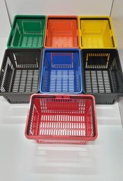 Nákupný košík 22 Litrov 8 Colors Atest SanePidu