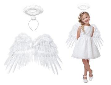 Sada Narodenia kostýmu Angel Wings 50x35