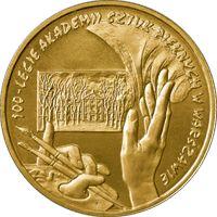 100 ЛЕТ АКАДЕМИЯ ИЗОБРАЗИТЕЛЬНЫХ ИСКУССТВ АСП 2004 2 ZŁ GN