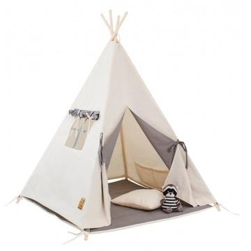 Палатка-типи детская, коврик + подушка + окно HIT