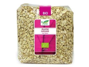 Овсяные хлопья 1 кг - Bio Planet - Ecological