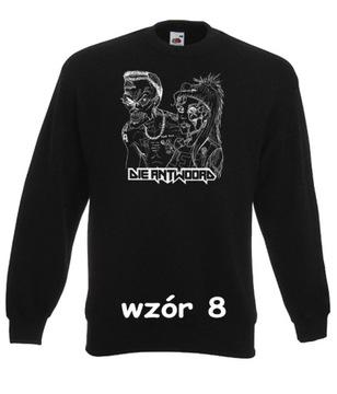 oryginalna bluza ninja wzór blzn 6 rozmiar s czarna