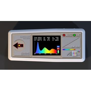 Spektrometr pomiar parametrów oświetlenia